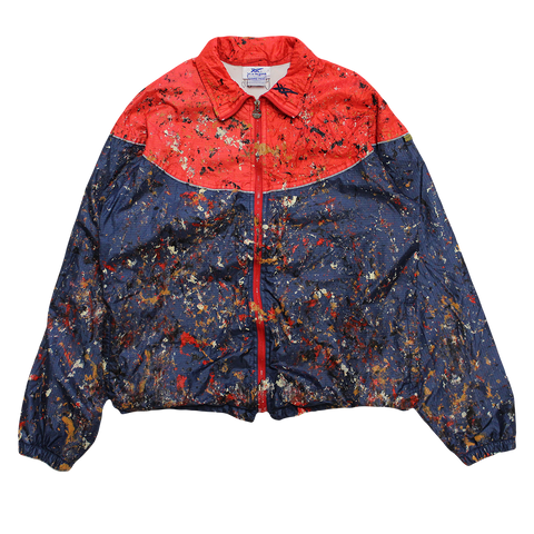 PAINTED PROTOYPE ASICS TIGER JACKET M
