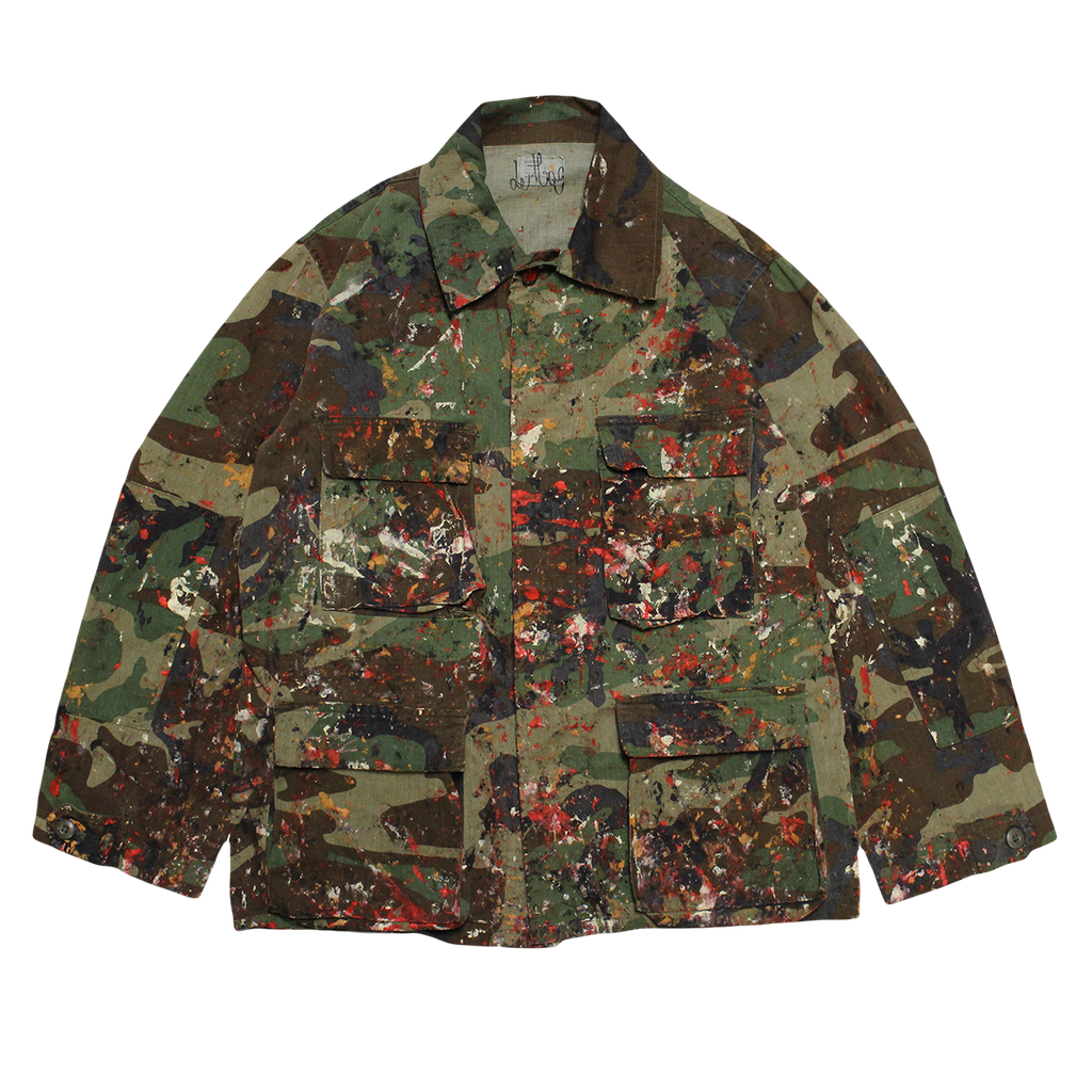PAINTED PROTOYPE MILITARY FIELD JACKET M