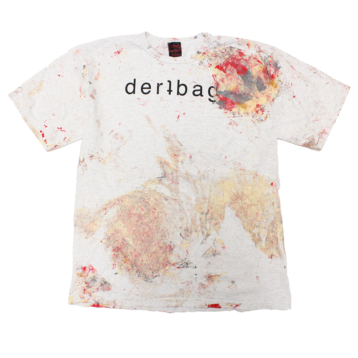 ASH PAINTED LOGO SHIRT - MEDIUM