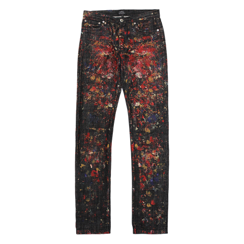 PAINTED PROTOYPE APC JEANS 28