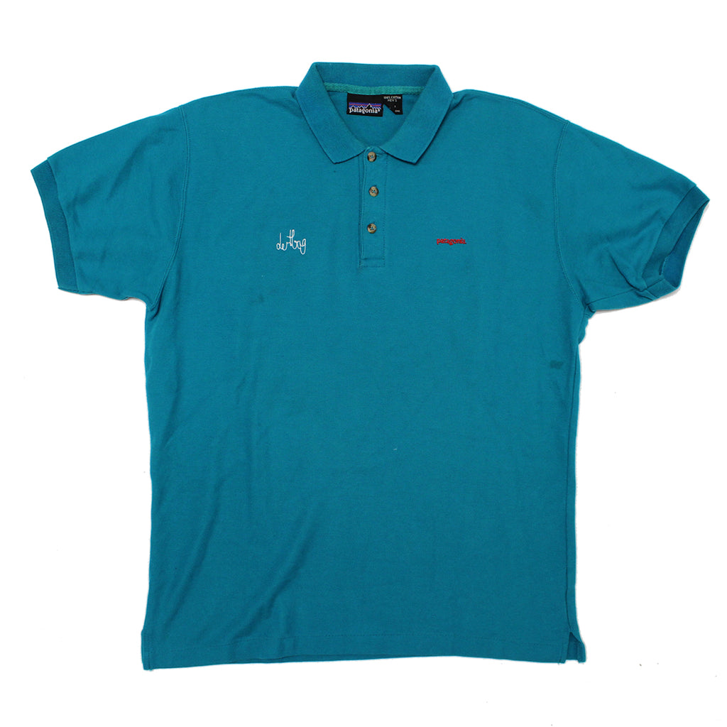 TEAL PATAGONIA POLO PROTOTYPE - LARGE