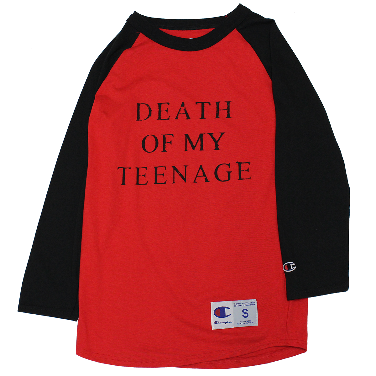 RED DOMT RAGLAN - SMALL