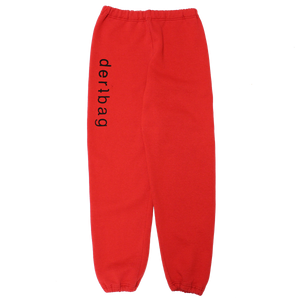 VINTAGE RED RUSSELL SWEATPANTS - LARGE