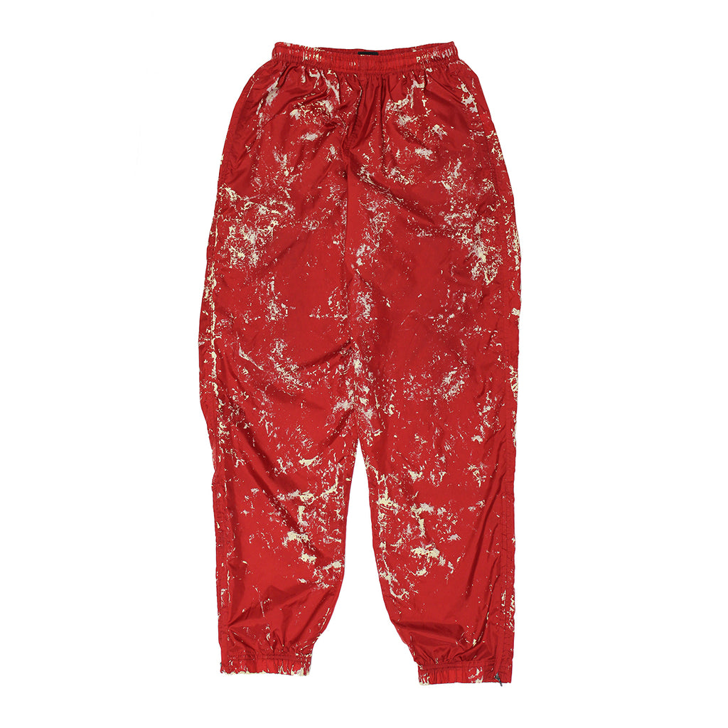 PAINTED PROTOTYPE NIKE RED PANTS