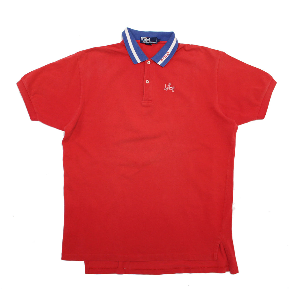 RED POLO PROTOTYPE - LARGE