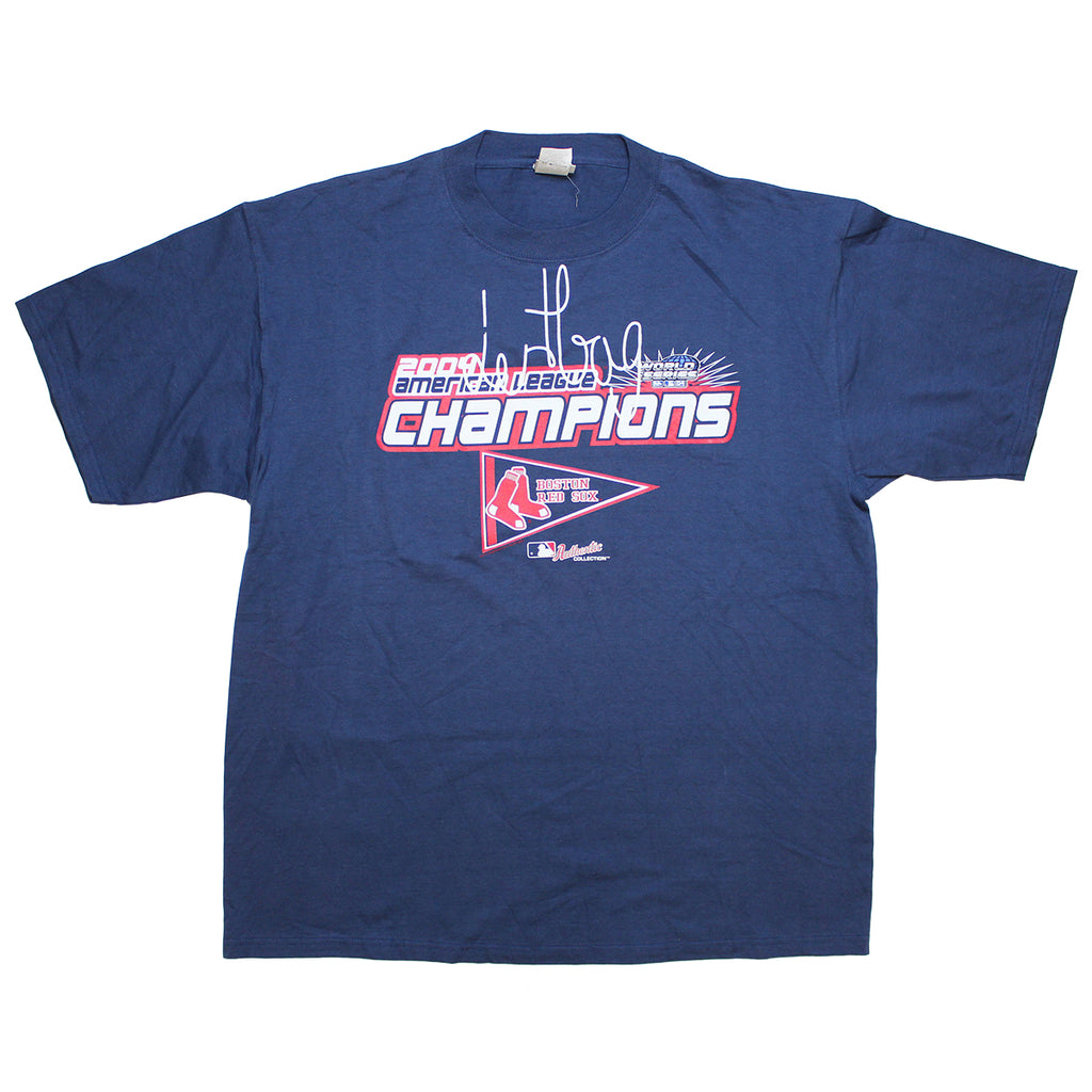 PRINTED PROTOTYPE 2004 RED SOX CHAMPIONS