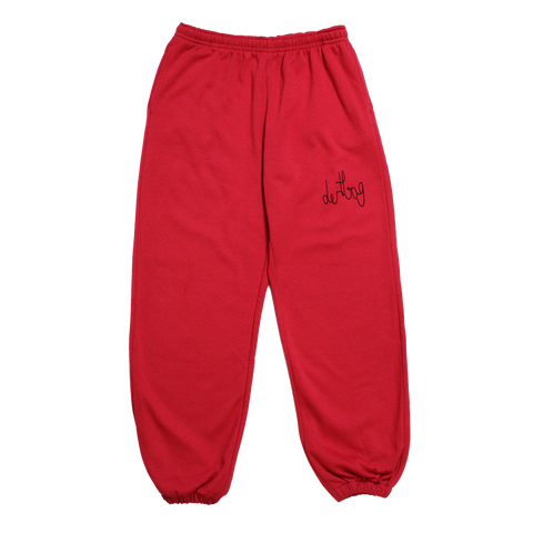 PROTOTYPE RED CONNECT SWEATPANTS