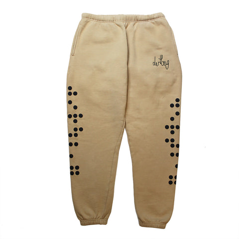dertbag Braille Sand Sweatpants