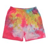 TIE DYE COTTON SHORTS