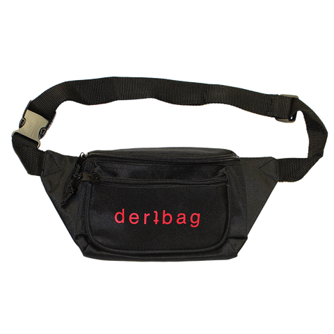 BLACK DERTBAG SHOULDER BAG
