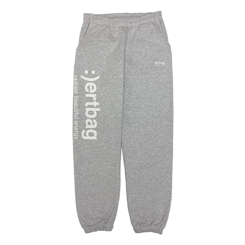 :)ertbag HEATHER GREY SWEATPANTS