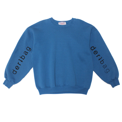 BLUE VINTAGE SPALDING SWEATER - M