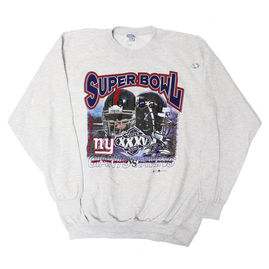 VINTAGE SUPERBOWL CREWNECK