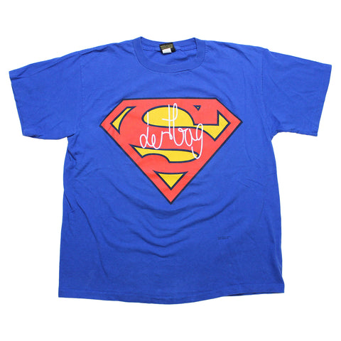 PRINTED PROTOTYPE VINTAGE SUPERMAN T-SHIRT