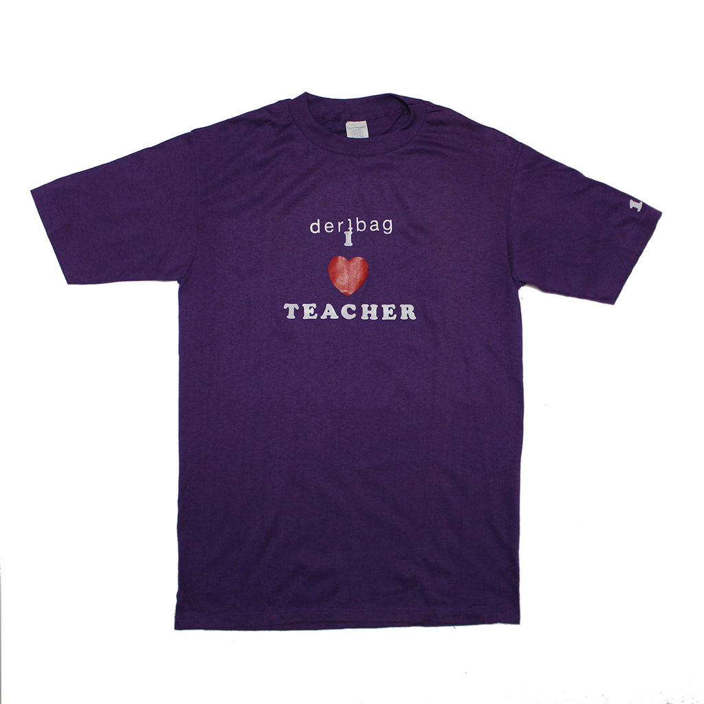 VINTAGE TEACHER T-SHIRT PRINTED PROTOTYPE - SMALL