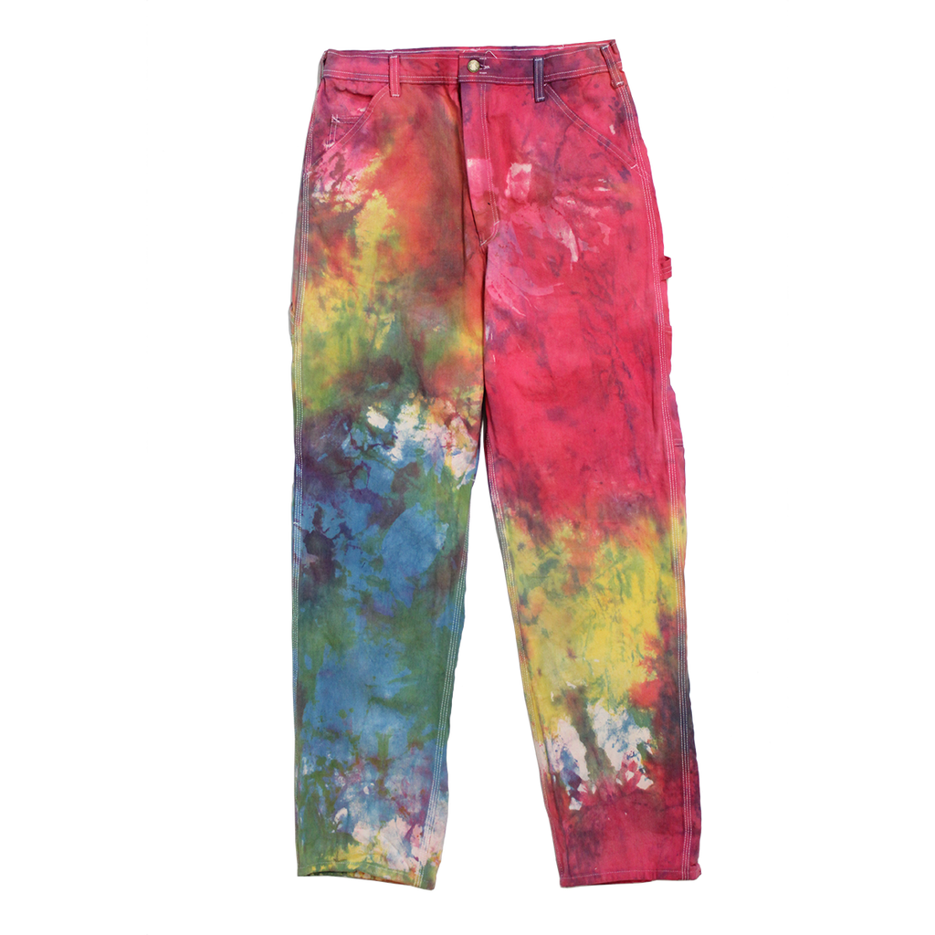 TIE DYE PAINTER PANTS