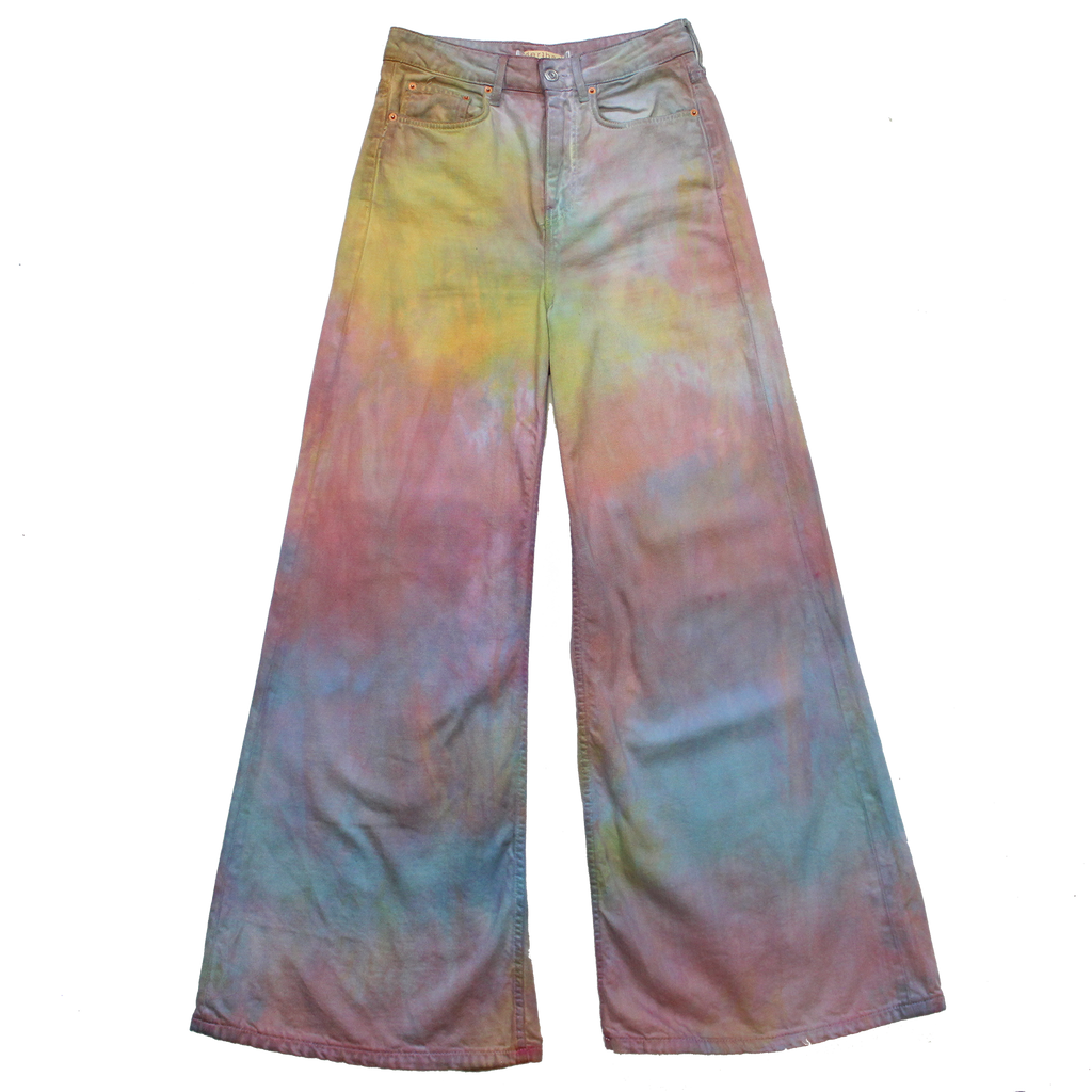 FORMAL HIPPIE TIE DYE PANTS
