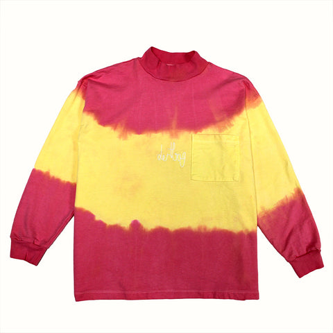 Tie Dye French Terry Turtleneck