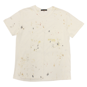 WHITE T-SHIRT PAINTED PROTOTYPE #5 - XL