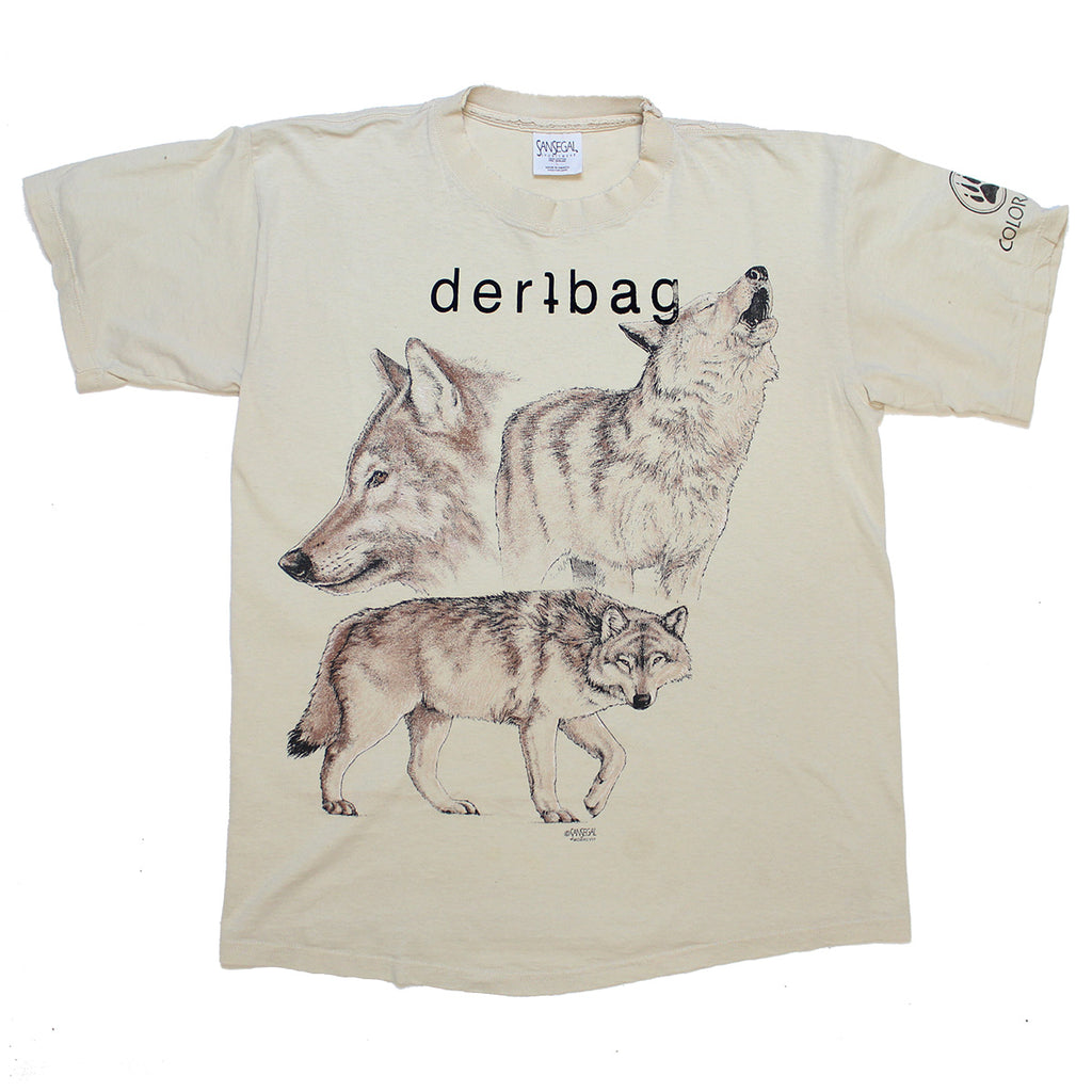 PRINTED PROTOTYPE VINTAGE WOLVES T-SHIRT