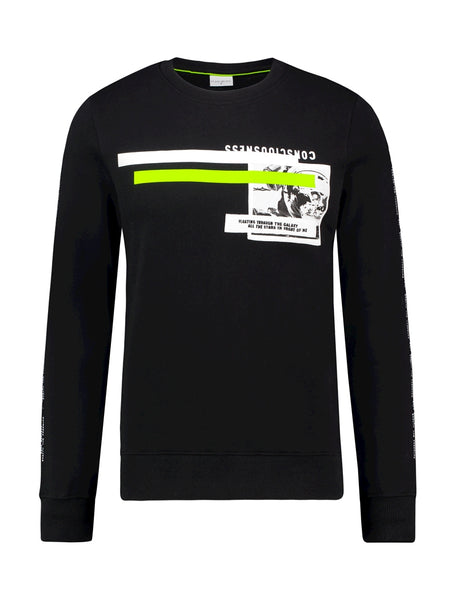 Zero Gravity Sweater Black