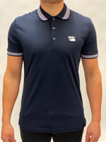 Navy Polo Logo Chest Antony Morato