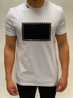White Stud Badge T-shirt My Brand