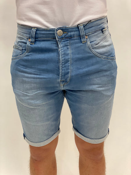 Light Blue Baggy Short Gabba