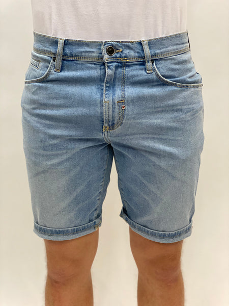 Light Blue Short Dave Antony Morato