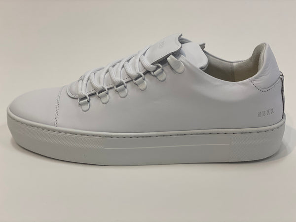 Jagger Classic Calf White Leather Nubikk