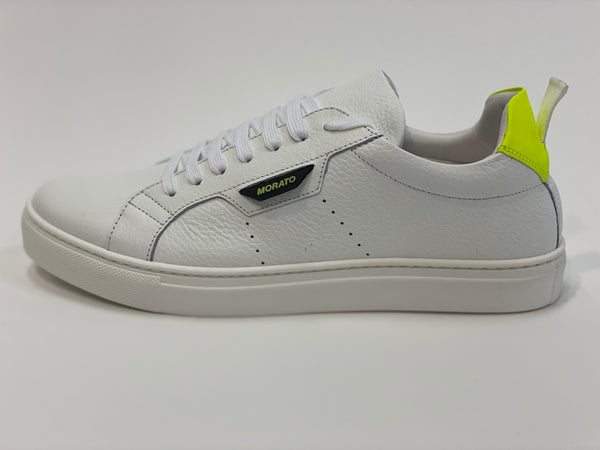 White Neon Yellow Sneakers Antony Morato