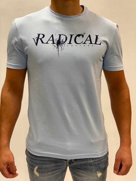 Light Blue T-shirt Logo Radical.