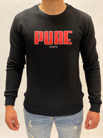 Sweater black Pure Logo Radical.