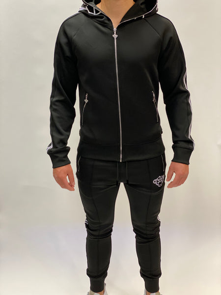London Tracksuit black/white Black Bananas