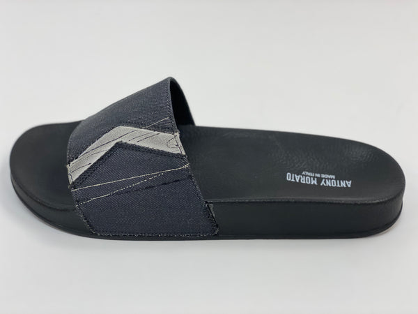Black Stripe Slides Antony Morato.