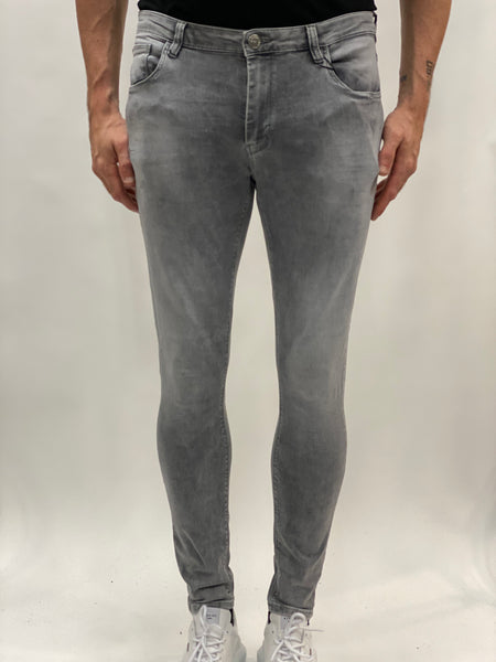 Iki Super Skinny Stretch Jeans Grey.
