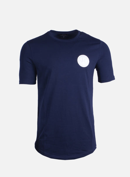 Lucio Badge Blue T-Shirt