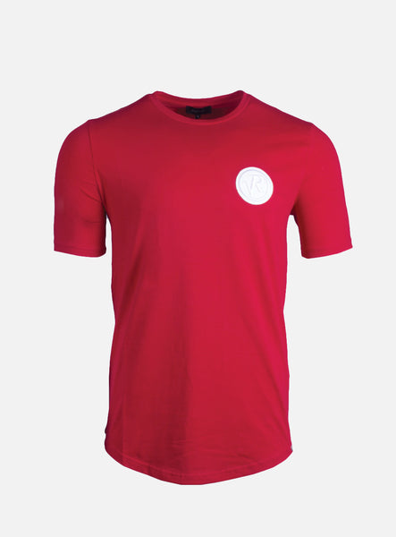 Lucio Badge Red T-Shirt