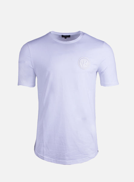 Lucio Badge White T-Shirt