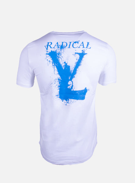 Melting Gun White Blue T-Shirt