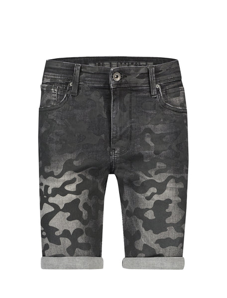 The Steve 425 Camouflage Black