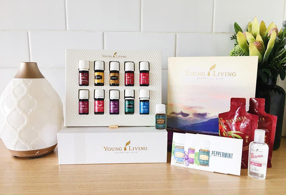 Young Living 11 Essential Oils Starter Kit with Diffuser - #shop_name - #product_vendor