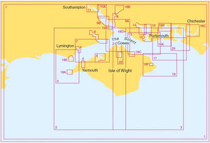 Admiralty Leisure Chart Folio - SC5600 The Solent and Approaches