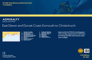 Admiralty Leisure Chart Folio - SC5601 East Devon and Dorset Coast: Exmouth to Christchurch
