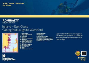 Admiralty Leisure Chart Folio - SC5621 	Ireland - East Coast, Carlingford Lough to Waterford