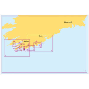 Admiralty Leisure Chart Folio - SC5623 Ireland - South West Coast, Bantry Bay to Kinsale