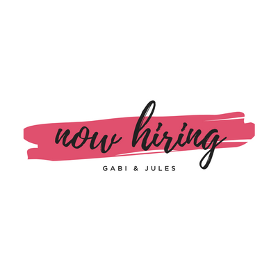 Join the Gabi & Jules team! We're now hiring baristas