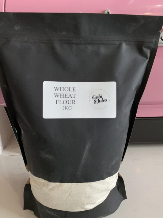 Whole Wheat Flour - 2kg-Gabi & Jules