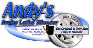 Andy's Brake Lathe Silencer