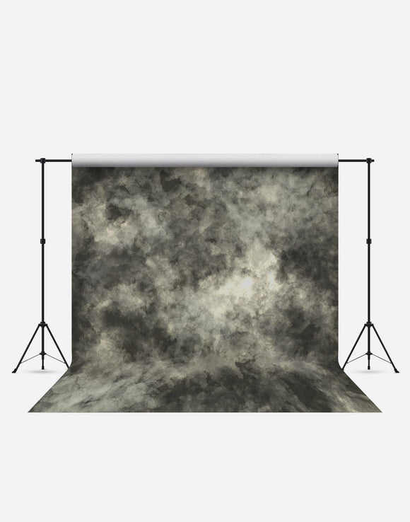 Dark Green Grungy Fashion Wrinkle Resistant Backdrop